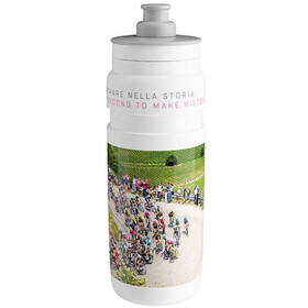 Elite Fly Bidon 750ml, giro white 2019